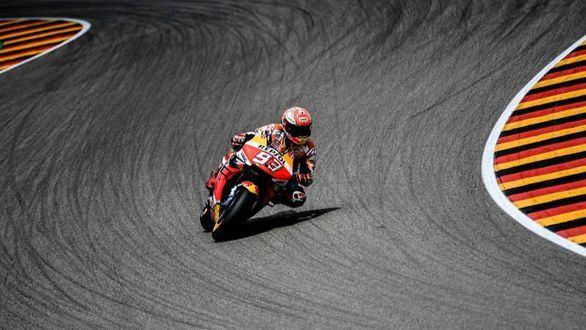 Moto GP. Márquez, a la estela de Doohan en Sachsenring