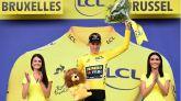 Tour de Francia. Teunissen, primer maillot amarillo