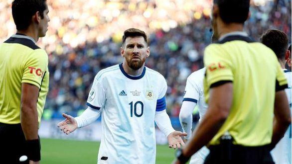 Copa América. Tercer puesto para Argentina y segunda roja en la carrera de Messi |2-1