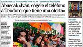 Las portadas de los periódicos del domingo 7 de julio