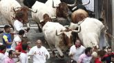Los toros de Puerto de San Lorenzo dejan un herido por asta en el primer encierro