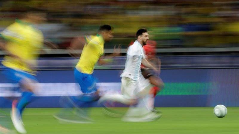 Copa América. Cuando Lionel Messi se disfrazó de Diego Maradona