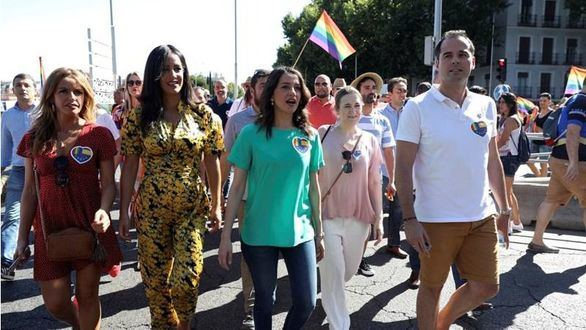 La Policía de Marlaska intenta responsabilizar a Ciudadanos del escrache en el Orgullo