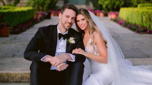 Pau Gasol confirma su boda con Catherine McDonell en Instagram