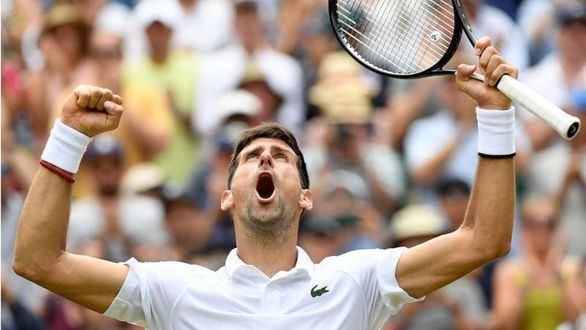 Wimbledon. Djokovic aprieta ante Goffin para llegar a semifinales por la vía rápida
