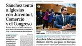 La estrategia que maquina Moncloa para investir a Sánchez (y que es clavada a la de Rajoy)