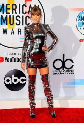 Taylor Swift, la famosa mejor pagada del mundo según la revista Forbes