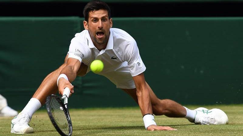 Wimbledon. Bautista aprieta a Djokovic pero no es suficiente para tumbar al serbio