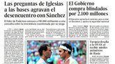Las portadas de los periódicos del sábado 13 de julio