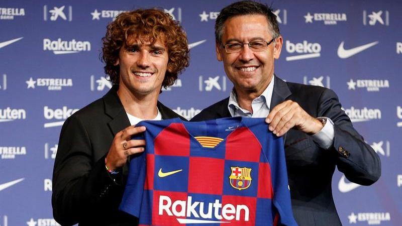 La rocambolesca presentación de Griezmann como jugador del Barcelona