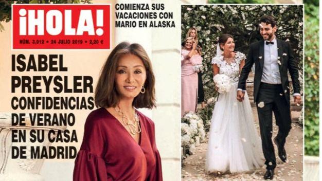 Los planes de verano de Isabel Preysler y la separación de Alejandro Sanz