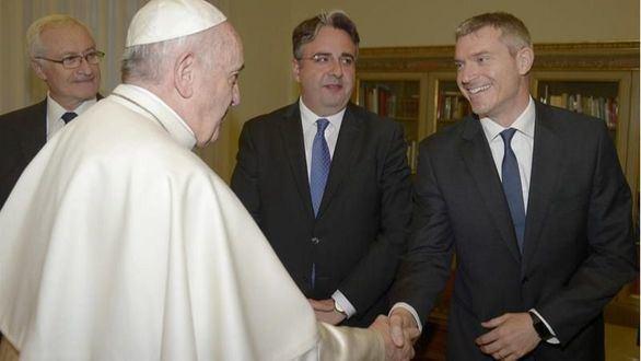 Crónica religiosa. Matteo Bruni, nuevo portavoz del Papa