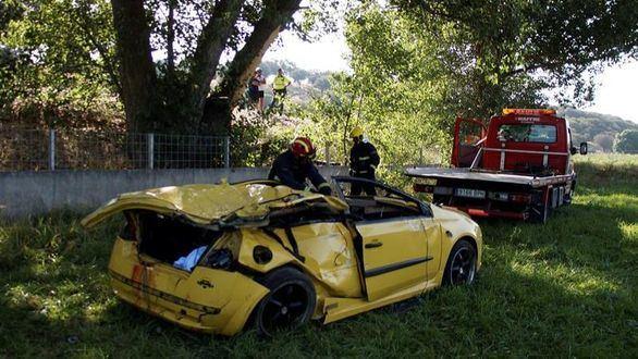 El testigo del accidente de Salamanca, familiar de una de las víctimas