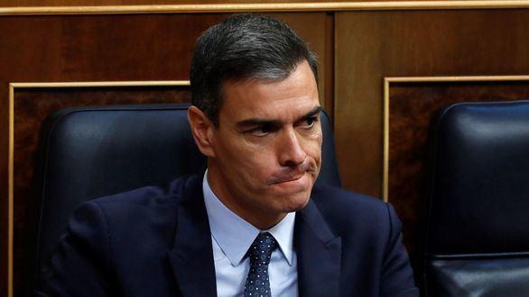 Pedro Sánchez, en el Congreso
