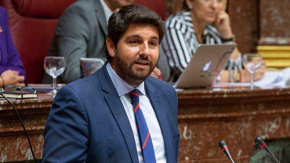 Fernando López Miras, presidente de Murcia gracias a PP, Cs y Vox