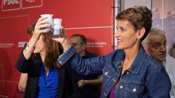 El PSOE se echa en manos de los nacionalistas vascos para gobernar Navarra