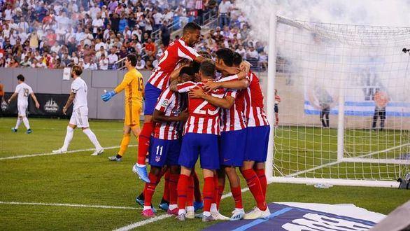 El Madrid claudica ante el Atlético en el primer derbi fuera de Europa |3-7