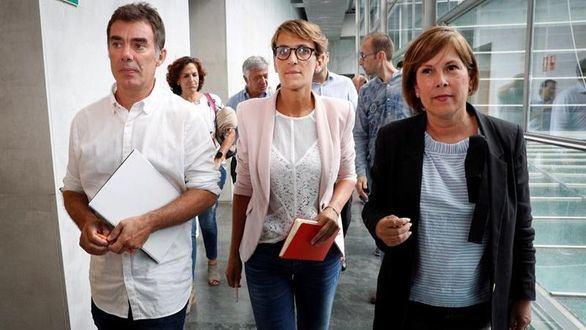 Bildu se postula como socio prioritario del PSOE en Navarra