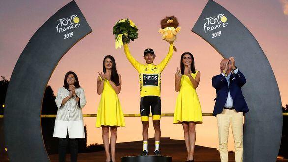 El colombiano Egan Bernal conquista su primer Tour de Francia