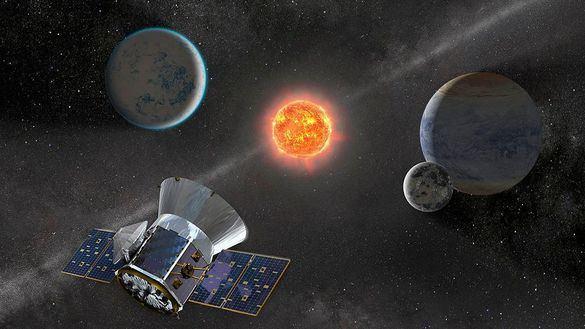 Descubren un sistema extrasolar de bolsillo con tres atípicos planetas
