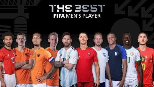 Messi, Cristiano, Mbappe o Hazard, entre los nominados al premio The Best