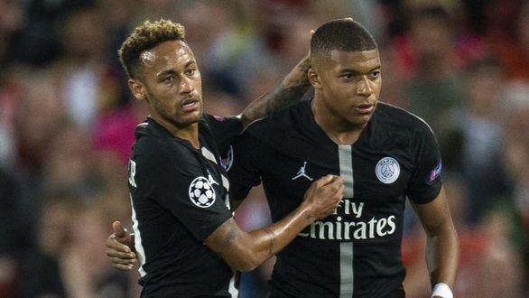 Mbappé pide a Neymar que siga vistiendo la camiseta del PSG: