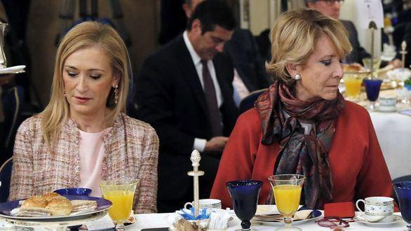 Anticorrupción pide imputar a Aguirre y Cifuentes