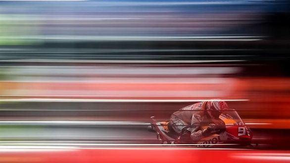Moto GP. Exhibición de Márquez para salir desde la primera plaza