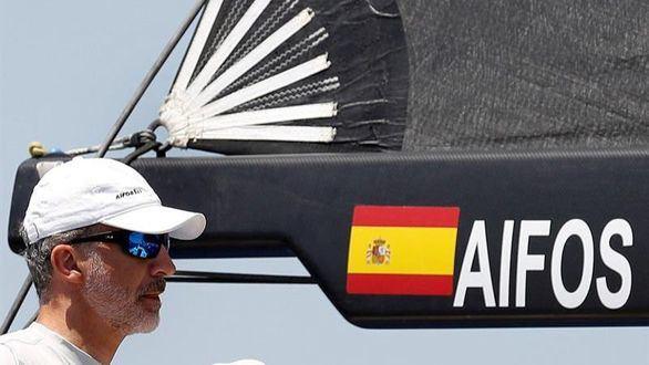 El Aifos 500 de Felipe VI acaba quinto en la Copa del Rey de vela