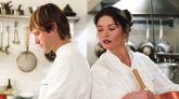 Catherine Zeta-Jones y Aaron Eckhart protagonizan la película 'Sin reservas'.