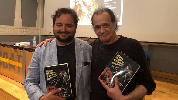 David Felipe Arranz llena de indios, vaqueros y princesas galácticas el Centro de Cultura Antiguo Instituto de Gijón