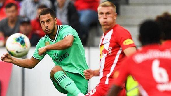 El Madrid vence por la mínima al Salzburgo en un partido de más a menos
