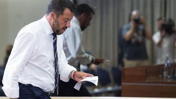 Salvini, a por todas: la Liga anuncia una moción de censura tras la ruptura con Conte