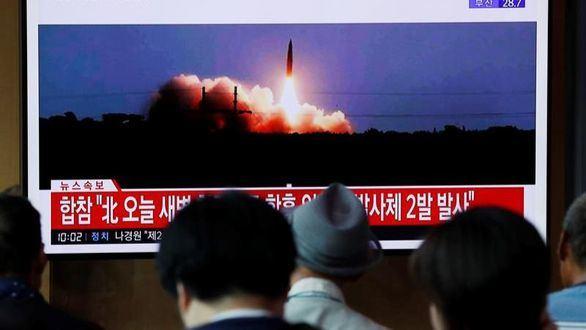 Corea del Norte efectúa su quinta prueba de misiles en dos semanas