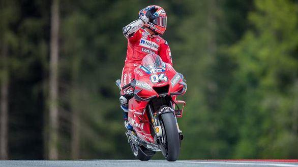 Moto GP. Dovizioso gana a Márquez en una uíltima vuelta de infarto