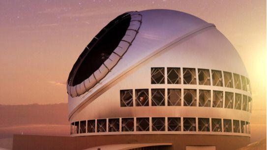 El Telescopio de Treinta Metros, más cerca de acabar en la cima de La Palma
