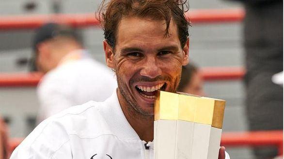 Montreal. Imponente Nadal: triunfo para sumar 35 Masters 1000 en su carrera