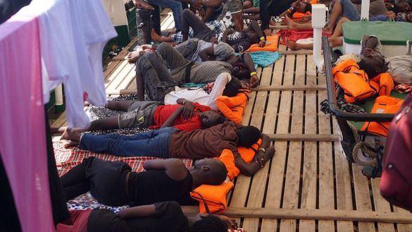 El Open Arms pide a la embajada española en Malta que dé asilo a 31 menores