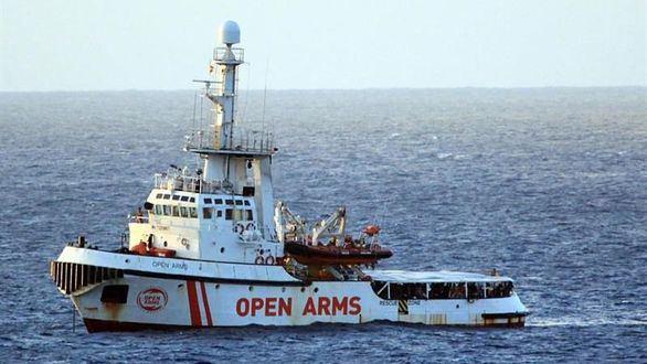 España, Francia y Alemania se ofrecen para acoger a los inmigrantes que viajan en el Open Arms