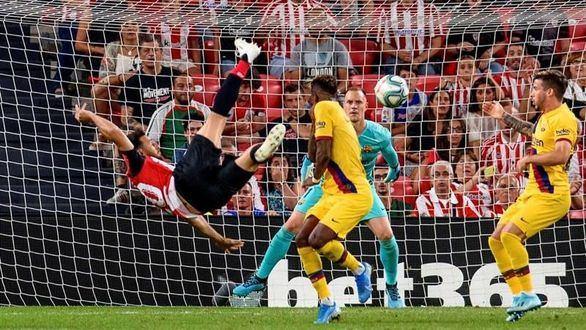 El Barcelona de Griezmann empieza pinchando ante el Athletic | 1-0