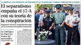 Las portadas de los periódicos del 18 de agosto