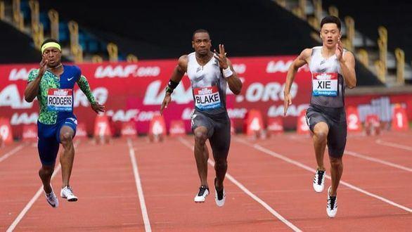 Diamond League. El jamaicano Yohan Blake pide paso en el 100 metros lisos