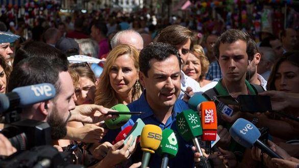 Moreno acusa a Sánchez de 'despreciar' a Andalucía por ofrecer Algeciras sin consultar