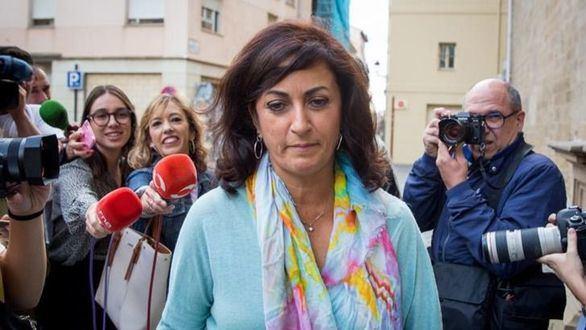 La candidata al gobierno riojano del PSOE Concha Andreu.