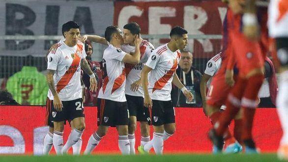 Copa Libertadores. River Plate barre a Cerro y atisba unas semis ante Boca Juniors | 2-0