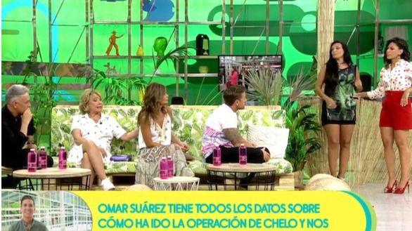 Imagen del programa Sálvame Naranja.