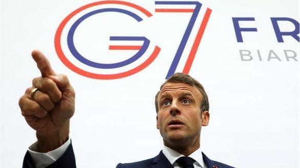 Reunión sorpresa: Irán irrumpe en el G7 invitado por Macron