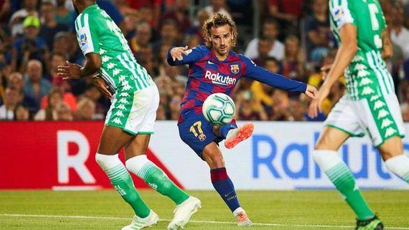 Griezmann espanta la crisis del Barcelona goleando al Betis | 5-2