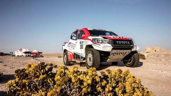 Rally Dakar. Alonso: