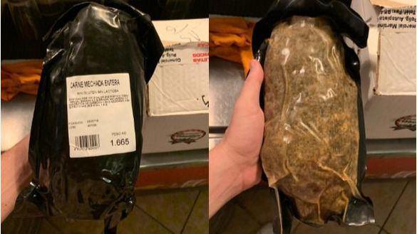 Así es el envasado de la carne mechada de marca blanca contaminada
